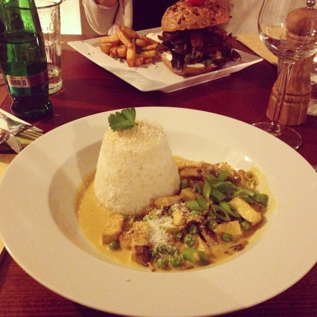 Thajské kokosové curry